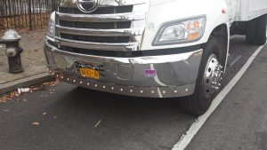 stainless steel truck bumper bar