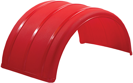 RED POLY FENDER