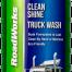 bottle of green truck wash