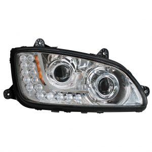 passenger side headlight assembly