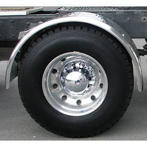 stainless steel single axle fender