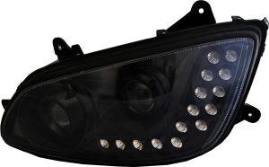 blackout headlights