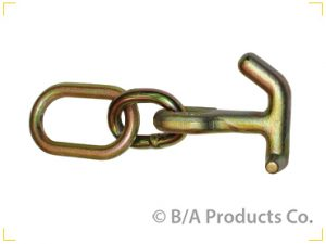 GOLD COLORED HAMMERHEAD HOOK WITH LINK