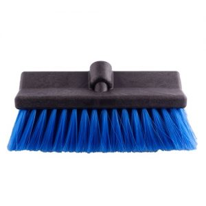 black wash brush with blue bristles