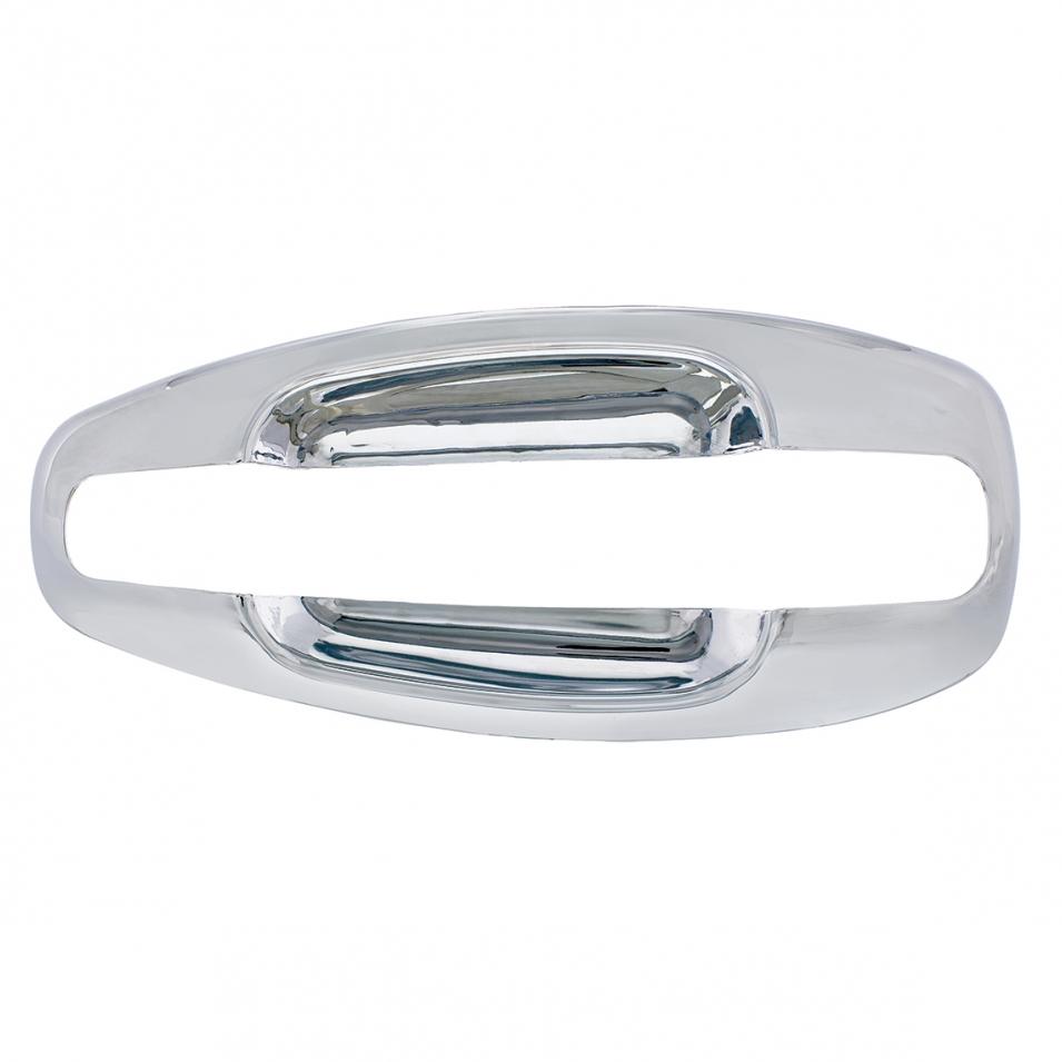 chrome look door handle trim