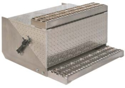 diamond plate step toolbox