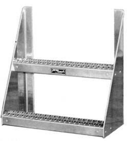 aluminum frame steps