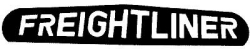 drawing of mud flap weight with freightliner logo