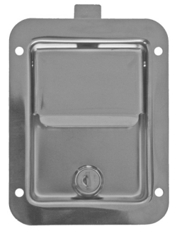 stainless steel flat paddle latch for toolbox