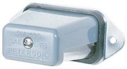 gray license plate light