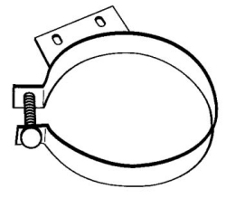 drawing of exhaust clamp