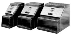 assorted sizes step toolboxes