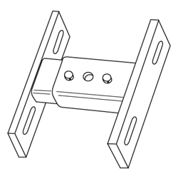 drawing of mounting bracket