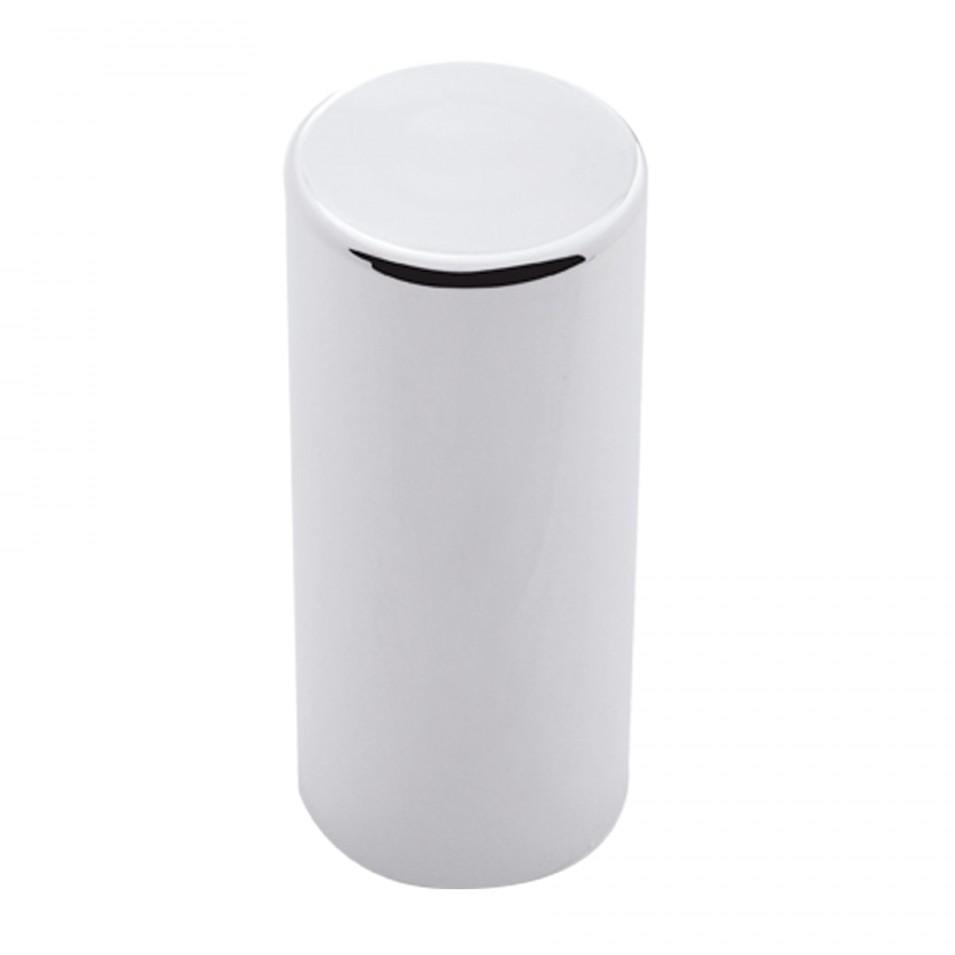 chrome look cylinder lug nut cover