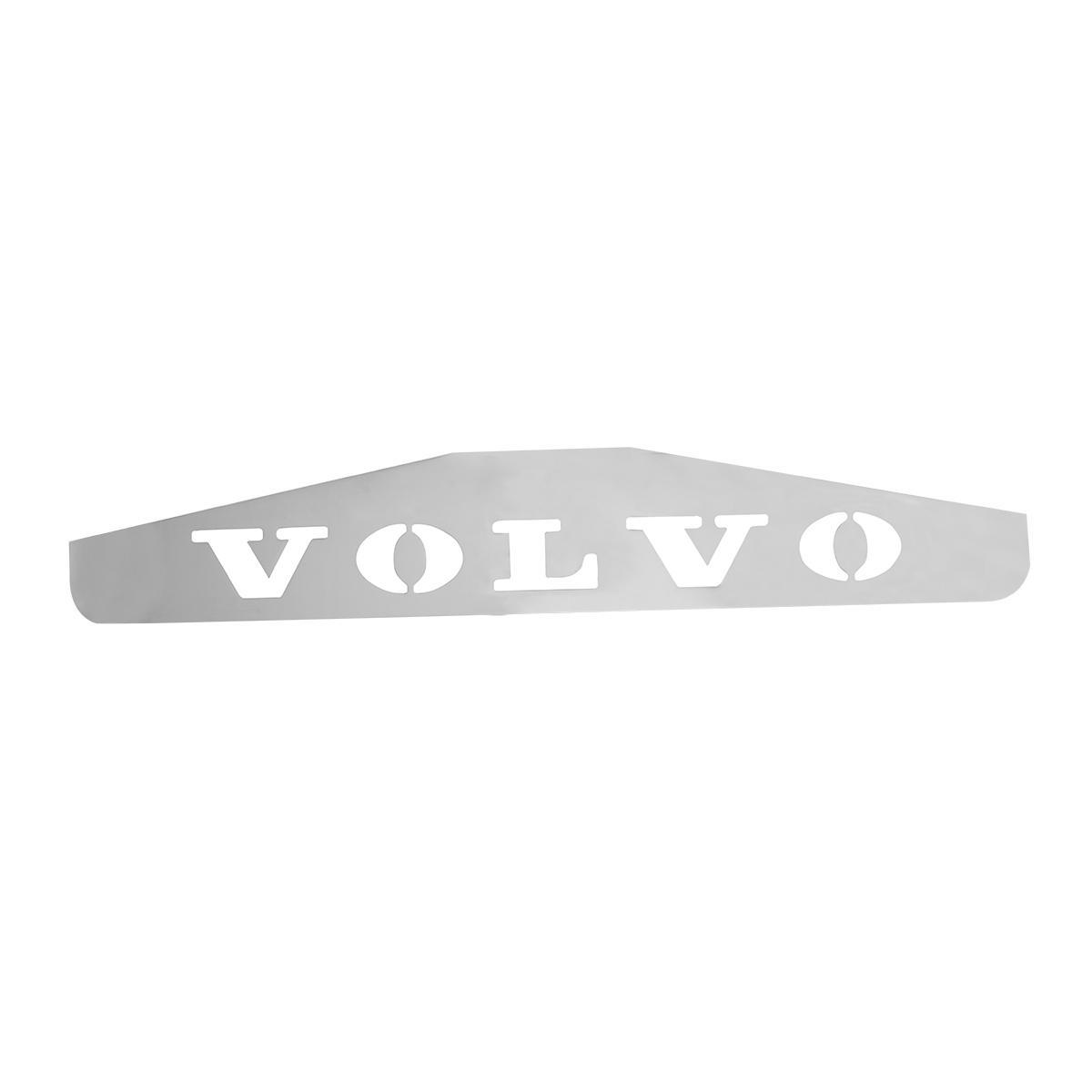 "MUDFLAP WEIGHT WITH ""VOLVO"" CUTOUT"