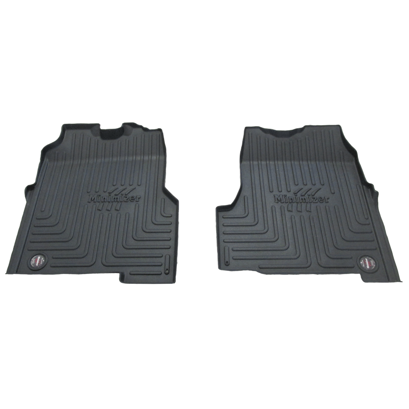 pair of truck floor mats