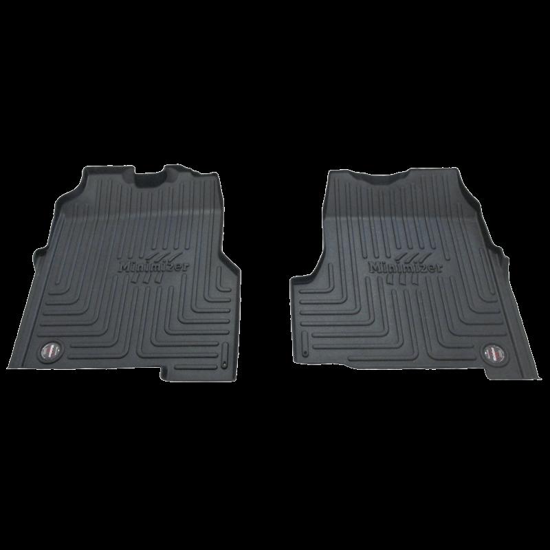 pair of truck floor mats