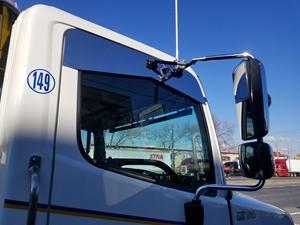 white truck window