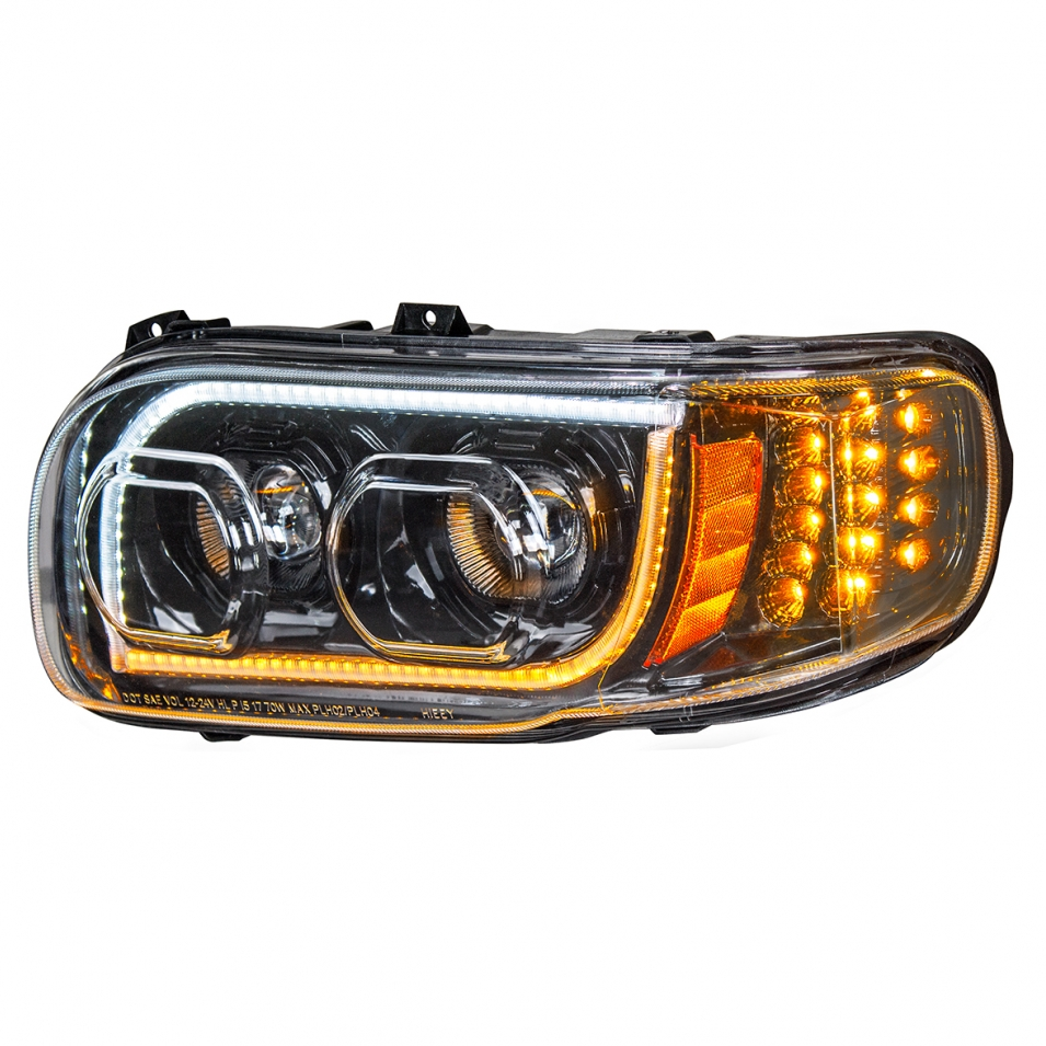 BLACK LENS HEADLIGHT